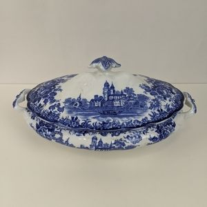 "Antique F. Winkle Covered Tureen ""TOGO"" Pattern"